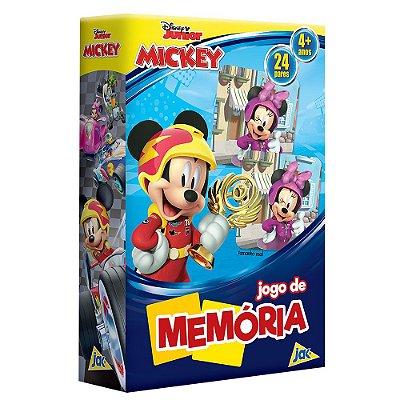Jogo da Memória - Mickey Aventura Sobre Rodas - Jak