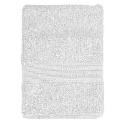 Toalha de Banho Gigante Canelada Fio Penteado - Branca 1011 - Buddemeyer