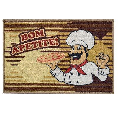 Tapete de Cozinha 40cm x 60cm - Bom Apetite - Inter Home