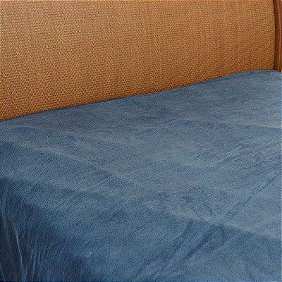 Cobertor Microfibra Queen Azul Escuro - Parahyba