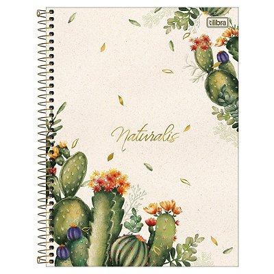 Caderno Naturalis - Cactos - 80 Folhas - Tilibra