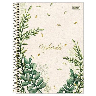 Caderno Naturalis - Folhas - 80 Folhas - Tilibra
