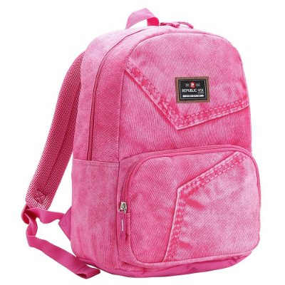 Mochila Teen Para Notebook - Rosa - Republic Vix