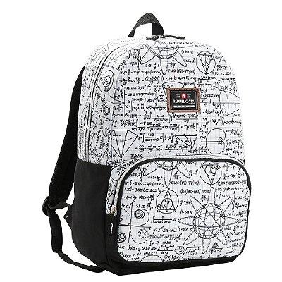 Mochila Teen Para Notebook - Matemática - Republic Vix