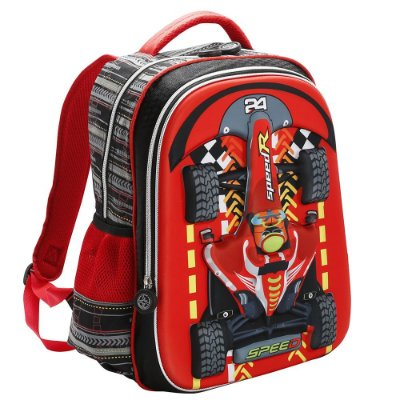 Mochila de Costas Infantil 3D - Speed - Republic Vix