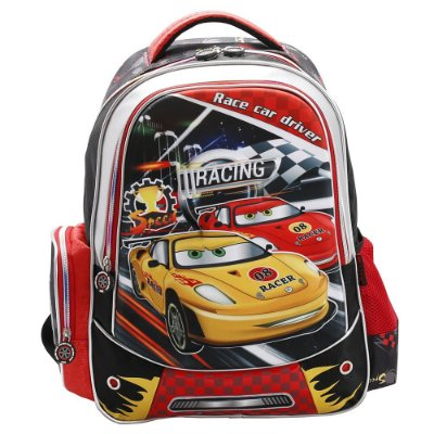 Mochila de Costas Infantil 3D - Racing - Republic Vix