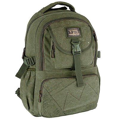 Mochila Militar Para Notebook - Verde Musgo - Republic Vix