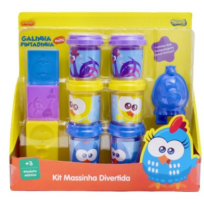 Kit Massinha Divertida Galinha Pintadinha - Sunny
