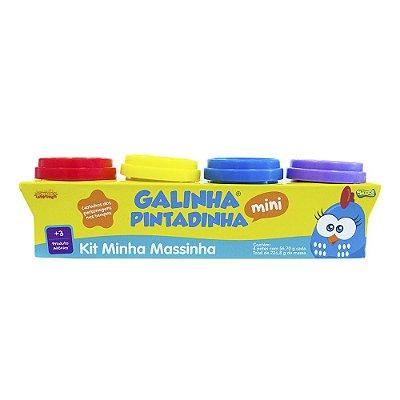 Kit Minha Massinha Galinha Pintadinha Mini - 4 Peças - Sunny