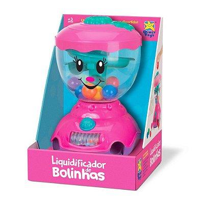 Liquidificador de Bolinhas - Pink - Divertoys
