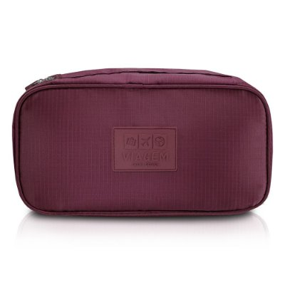 Bolsa Porta Lingerie - Marsala - Jacki Design