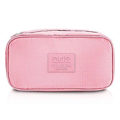 Bolsa Porta Lingerie - Rosa - Jacki Design
