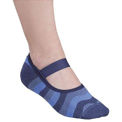 Sapatilha Antiderrapante - Azul - Lupo