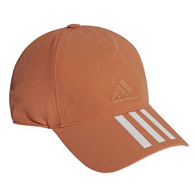 Boné C40 3-Stripes Climalite - Laranja - Adidas