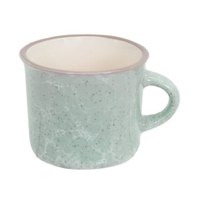 Mini Caneca Marble Colors 70ml - Azul - Mimo Style