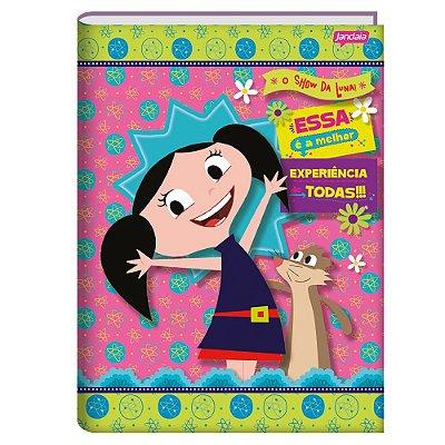 Caderno Brochura O Show da Luna - Luna e Cláudio - 96 folhas - Jandaia