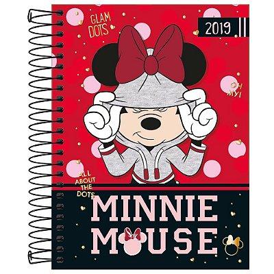 Agenda Diária Minnie 2019 - Minnie Capuz - Tilibra