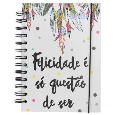 Agenda Diária Filtro Dos Sonhos 2019 - Branca - Interponte