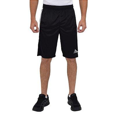 Short Masculino D2M 3-Stripes - Preto - Adidas