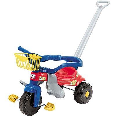 Triciclo Infantil Tico Tico Festa - Azul - Magic Toys