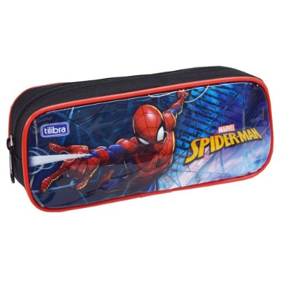 Estojo Spider Man - Homem Aranha - Tilibra
