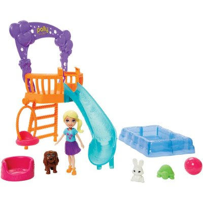 Polly Pocket - Festa no Jardim Com Bichinhos - Mattel