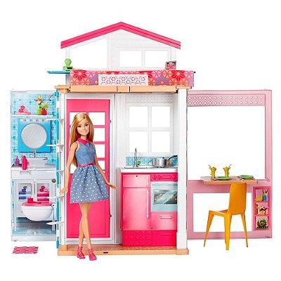 Boneca Barbie & Sua Casa - Mattel