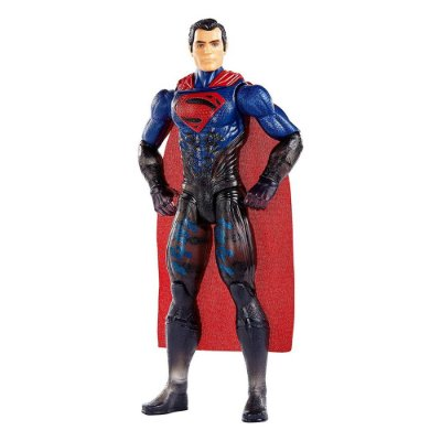 Boneco Super Homem 30 cm - Traje Táctico - Mattel
