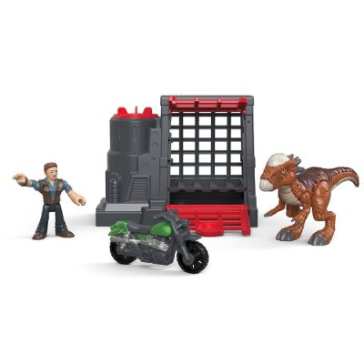 Imaginext Jurassic World - Captura do Dinossauro Veloz - Mattel