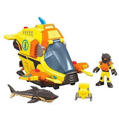 Imaginext Submarino das Profundezas - Mattel