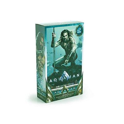Quebra-Cabeça Aquaman - 200 Peças - Grow