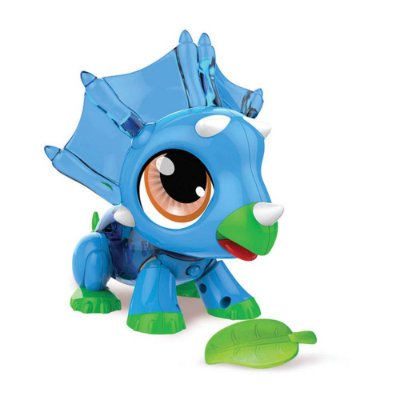 Build a Bot Dinossauro Azul - 21 Peças - Multikids