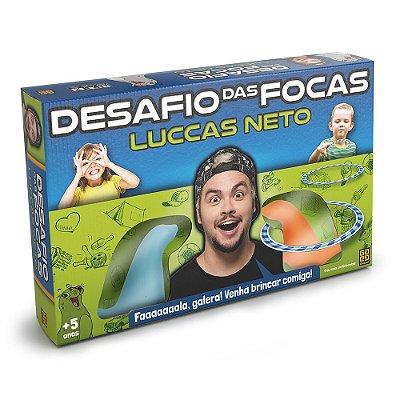 Jogo Desafio das Focas - Luccas Neto - Grow