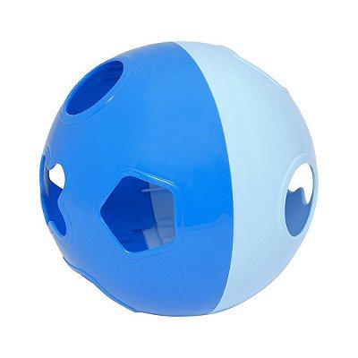 Bola Didática - Azul - Mercotoys