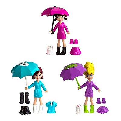 Polly Pocket - Diversão na Chuva - Mattel