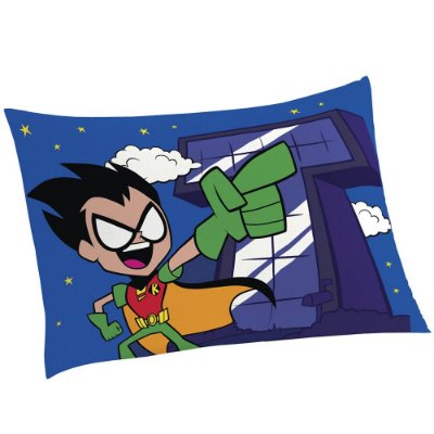 Fronha Avulsa Infantil Teen Titans - To The Movie - Lepper