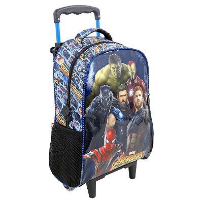 "Mochila de Carrinho 16"" Avengers Infinity War - Super Heróis Galaxia - Xeryus"