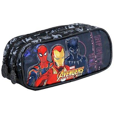 Estojo Duplo Avengers Infinity War First Strike - Xeryus
