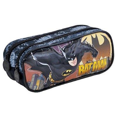 Estojo Duplo Batman Relevo - Xeryus