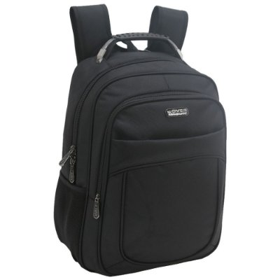 Mochila Para Notebook Over Route Com USB - Preta Executive - Xeryus