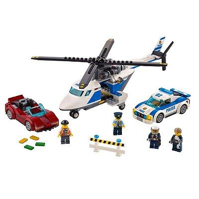 Lego City - Perseguição em Alta Velocidade - 294 Peças - Lego