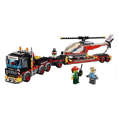 Lego City - Transporte de Carga Pesada - 310 Peças - Lego