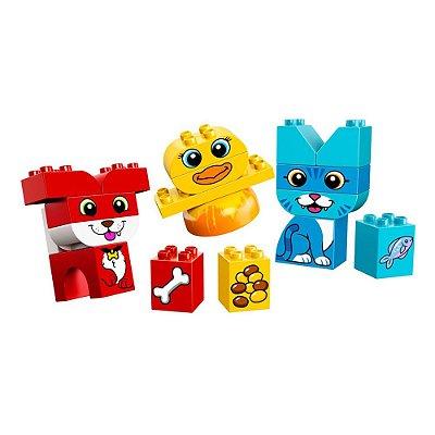 Lego Duplo Infantil - Meu Primeiro Puzzle de Animais - 18 Peças - Lego