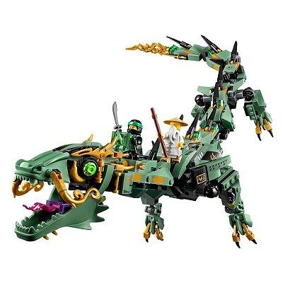 Lego Ninjago - Dragão do Ninja Verde - 544 Peças - Lego