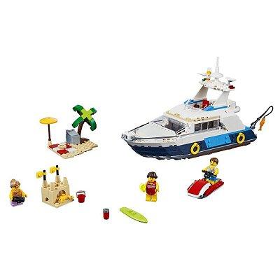 Lego Creator 3 em 1 - Aventuras no Cruzeiro - 597 Peças - Lego
