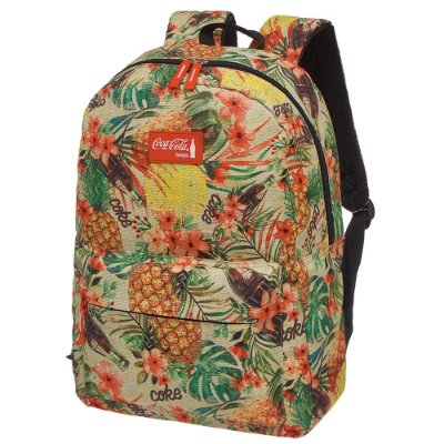 Mochila de Costas Coca-Cola - Pineapple - Pacific