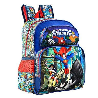 "Mochila de Costas 16"" DC Super Heroes - Xeryus"
