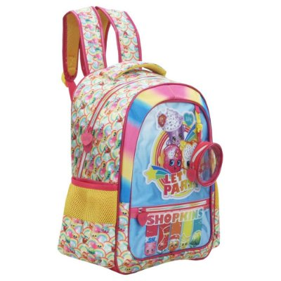 "Mochila de Costas 16"" Shopkins Rainbow Party - Xeryus"