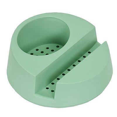 Porta Detergente e Esponja - Verde Menta - Ou
