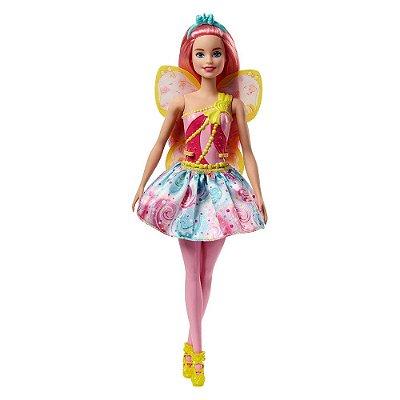 Boneca Barbie Dreamtopia Fada - Rosa -Mattel